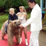 Дрессированный медведь на Ваш праздник