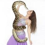 Танец со змей (фотосессия)