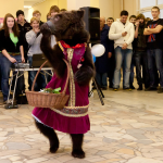 медведь на корпоротив с цирковым номером поздравит вашего босса за дешево не дорого