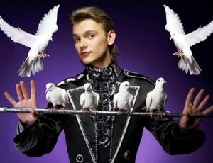 шоу дрессированных голубей, шоу с дрессированными голубями