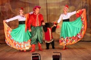 Танец медведя Москва