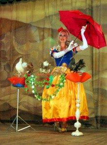 Шоу с голубями на праздник
