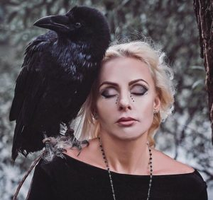 Аренда ворона для фотосессии
