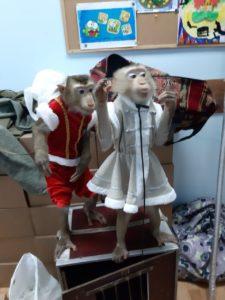 Шоу обезьянок на праздник